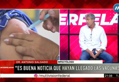 Covid: Que haya llegado la vacuna es una buena noticia