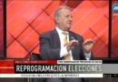 LA FECHA DE LAS ELECCIONES ESTÁ EN EVALUACIÓN PERMANENTEMENTE